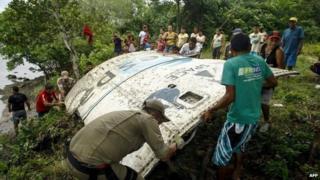 Space debris in Brazil's Amazon region