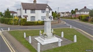 Arlesey war memorial