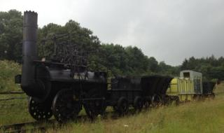 Beamish's fully working replica of Locomotion No. 1