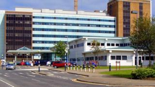 The children have been taken to Altnagelvin Hospital in Londonderry