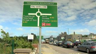 The Haudagain roundabout has been a traffic bottleneck for years