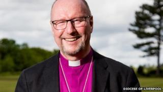 Bishop of Liverpool Rt Rev Paul Bayes