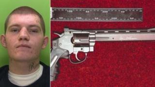 Reece Theison and the fake gun
