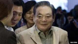 Lee Kun-hee, chairman of Samsung
