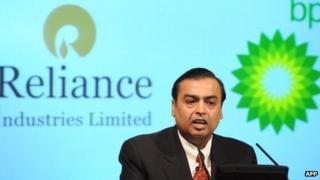 Reliance chairman Mukesh Ambani