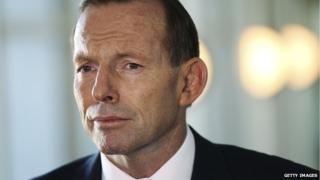Australia's Prime Minister Tony Abbott has been labelled 'the Demolition Man'