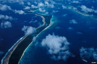 Diego Garcia from the air