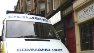 Police Pic: Brian Innes