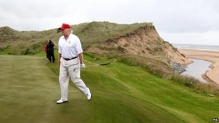 US billionaire Donald Trump plans to invest up to £36m in Doonbeg golf course in the Republic of Ireland