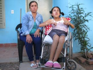 Viviana Perez and her daughter Nadia