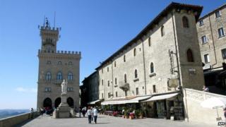 The Palazzo del Govierno in San Marino pictured in 2003