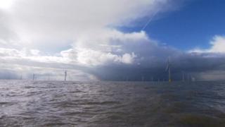 East coast windfarm