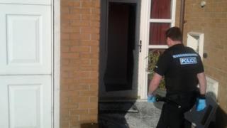 Police raid at house in Hadley, Telford
