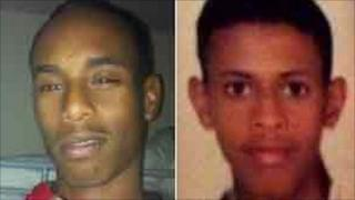 Mohamed Abdi Farah and Amin Ahmed Ismail