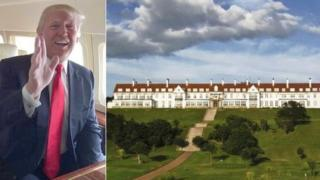 Donald Trump and Turnberry
