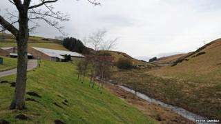 River Farg at treatment plant
