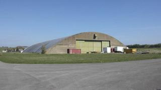 Hangars at Wroughton Airfield, Swindon