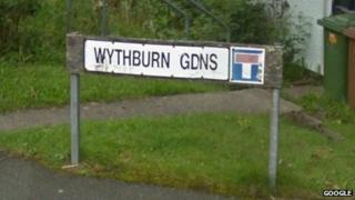 Wythburn Gardens street sign. Pic: Google