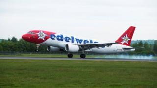 Edelweiss plane