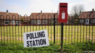 Polling station and a postbox