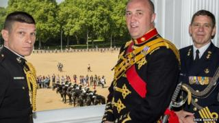 James Whitwham at Horse Guards