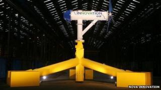 Seabed turbine
