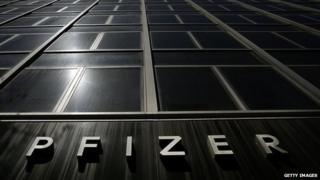 Pfizer's Manhattan headquarters