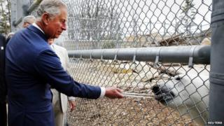 Prince Charles on tour in Canada