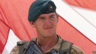 Royal Marine Sergeant Alexander Wayne Blackman