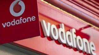 Vodafone shop, London
