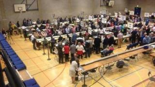 Count at Maidstone