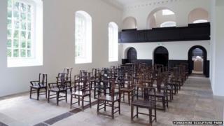 Fairytale Chairs by Ai Weiwei (photographer Jonty Wilde)
