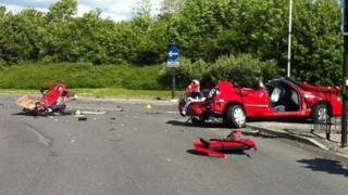 Thamesdown drive crash