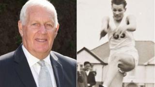 Norman Richards, 74 oed, greodd argraff yng ngemau 1958
