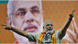 Mr Modi's big election victory allows him to reach out to India's neighbours in a more direct manner