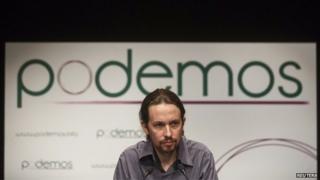 Podemos leader Pablo Iglesias