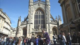 Bath Abbey, Somerset