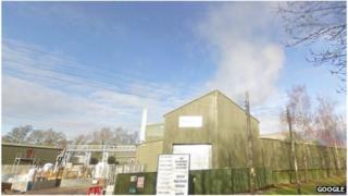 St Regis paper mill