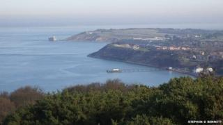 Totland Bay and pier