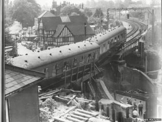 Cheadle Hulme rail crash