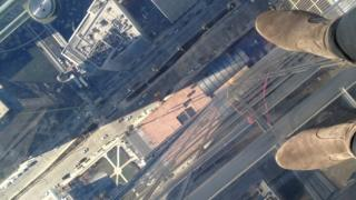 View of the Ledge at Willis Tower