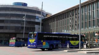 Marseille coach station (1 June)