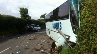 Tunstall crash
