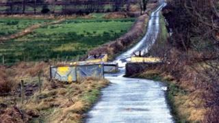 Border road near Belleek