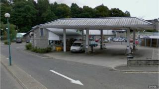 Co-op filling station