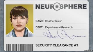 Bedlam character Heather Quinn/Athena