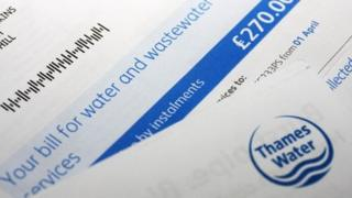 Thames Water bill