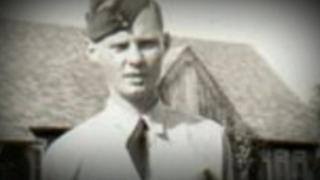 RAF pilot Bill Eames was born in Enniskillen, County Fermanagh