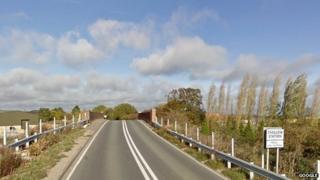 A417 by Challow bridge
