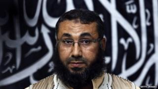 Mohammad al-Zahawi, head of Ansar al-Sharia